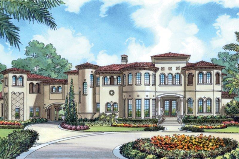 House Plan Design - European Exterior - Front Elevation Plan #417-798