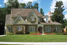 Home Plan Design - Country Exterior - Front Elevation Plan #429-180