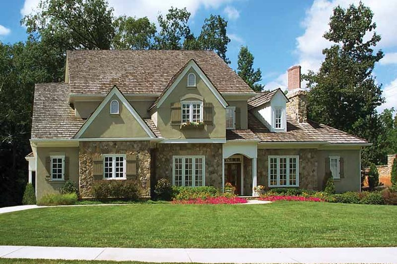House Plan Design - Country Exterior - Front Elevation Plan #429-180