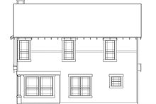 Country Exterior - Rear Elevation Plan #472-370