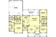 Farmhouse Style House Plan - 3 Beds 2.5 Baths 2044 Sq/Ft Plan #430-208 Floor Plan - Main Floor Plan