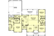 Farmhouse Style House Plan - 3 Beds 2.5 Baths 2044 Sq/Ft Plan #430-208 Floor Plan - Main Floor