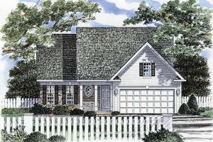Craftsman Exterior - Front Elevation Plan #316-234