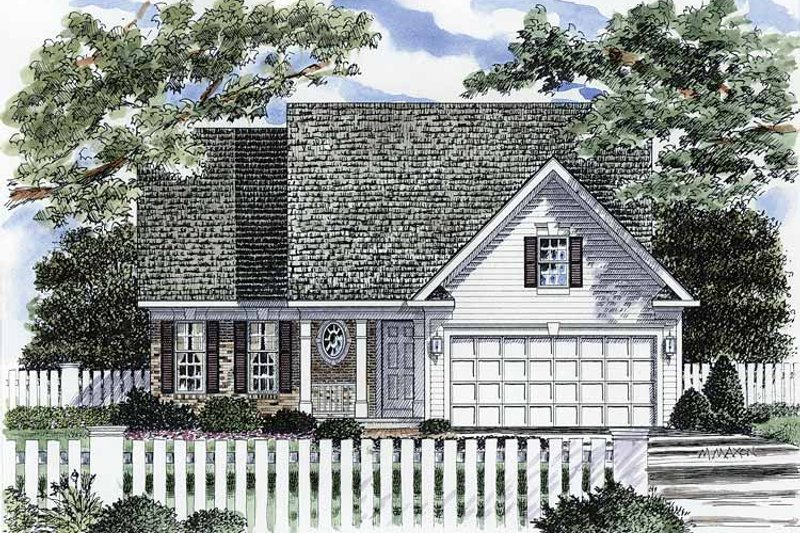 Craftsman Exterior - Front Elevation Plan #316-234