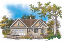 Architectural House Design - Ranch Exterior - Front Elevation Plan #929-629
