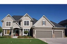 Architectural House Design - Traditional Exterior - Front Elevation Plan #51-1103