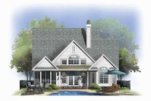 Traditional Exterior - Rear Elevation Plan #929-805