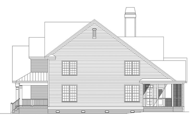 Traditional Exterior - Other Elevation Plan #929-805 - Houseplans.com