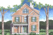 Dream House Plan - Country Exterior - Front Elevation Plan #1029-14