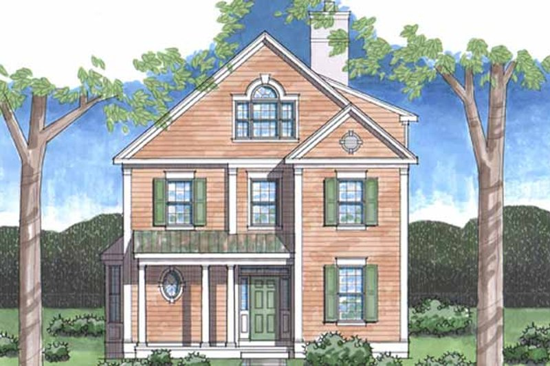 Country Exterior - Front Elevation Plan #1029-14 - Houseplans.com