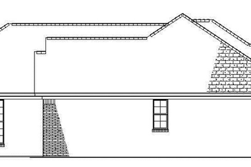 Ranch Exterior - Other Elevation Plan #17-2841 - Houseplans.com