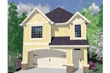 Country Exterior - Front Elevation Plan #509-213