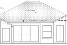 House Plan Design - Mediterranean Exterior - Rear Elevation Plan #1058-38