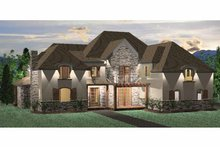 Country Exterior - Front Elevation Plan #937-25
