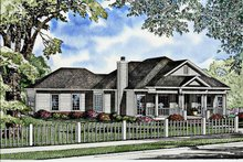 Home Plan - Classical Exterior - Front Elevation Plan #17-2992