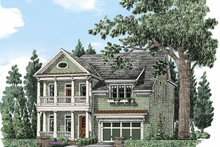 Colonial Exterior - Front Elevation Plan #927-485