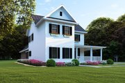 Farmhouse Style House Plan - 4 Beds 2.5 Baths 2268 Sq/Ft Plan #923-103 Exterior - Front Elevation