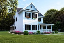 Farmhouse Exterior - Front Elevation Plan #923-103