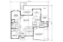 European Floor Plan - Main Floor Plan Plan #5-266
