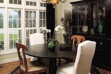 Architectural House Design - Traditional Interior - Dining Room Plan #929-605