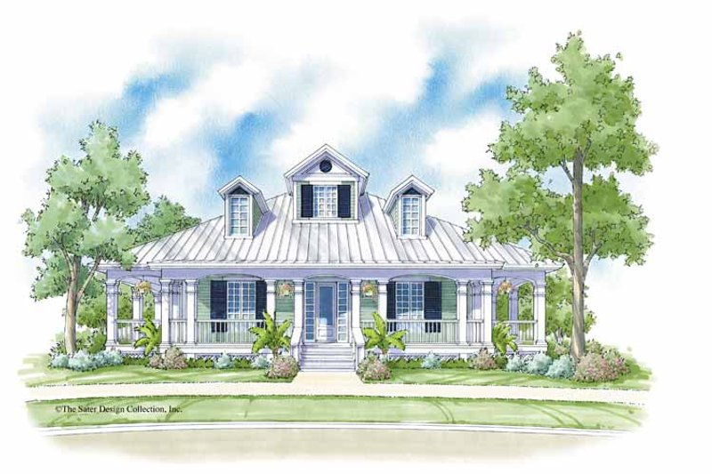 Traditional Exterior - Front Elevation Plan #930-399 - Houseplans.com