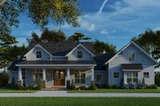 Craftsman Style House Plan - 3 Beds 2.5 Baths 2269 Sq/Ft Plan #923-133 Exterior - Other Elevation