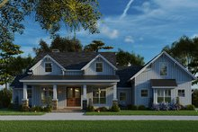 Dream House Plan - Craftsman Exterior - Other Elevation Plan #923-133