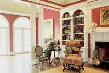 Classical Interior - Family Room Plan #429-145