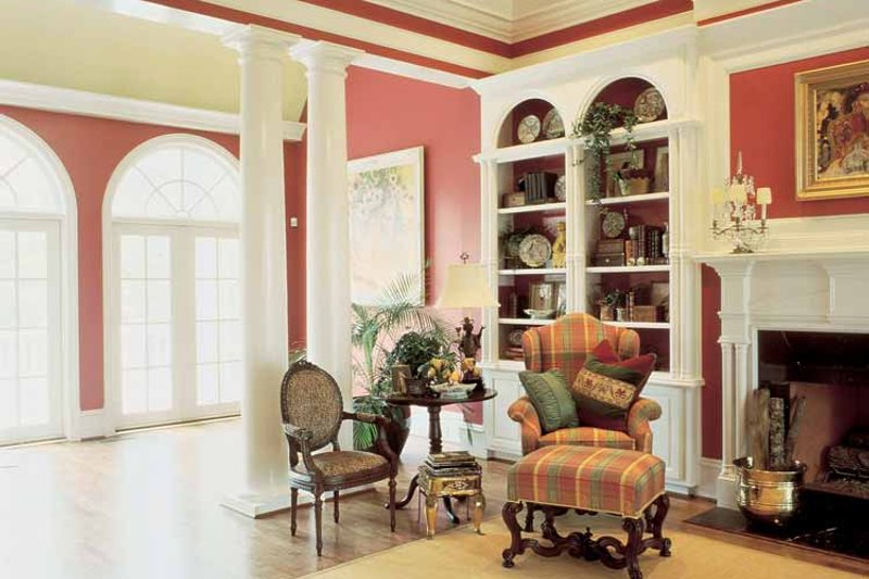 Classical Interior - Family Room Plan #429-145 - Houseplans.com
