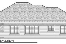 Home Plan - Exterior - Rear Elevation Plan #70-929