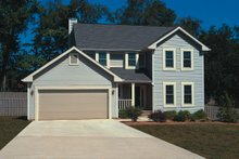 House Plan Design - Traditional Exterior - Front Elevation Plan #20-2013