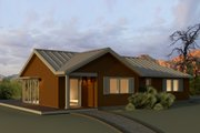 Ranch Style House Plan - 3 Beds 2 Baths 1630 Sq/Ft Plan #497-12
