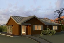 Home Plan - Ranch Exterior - Front Elevation Plan #497-12