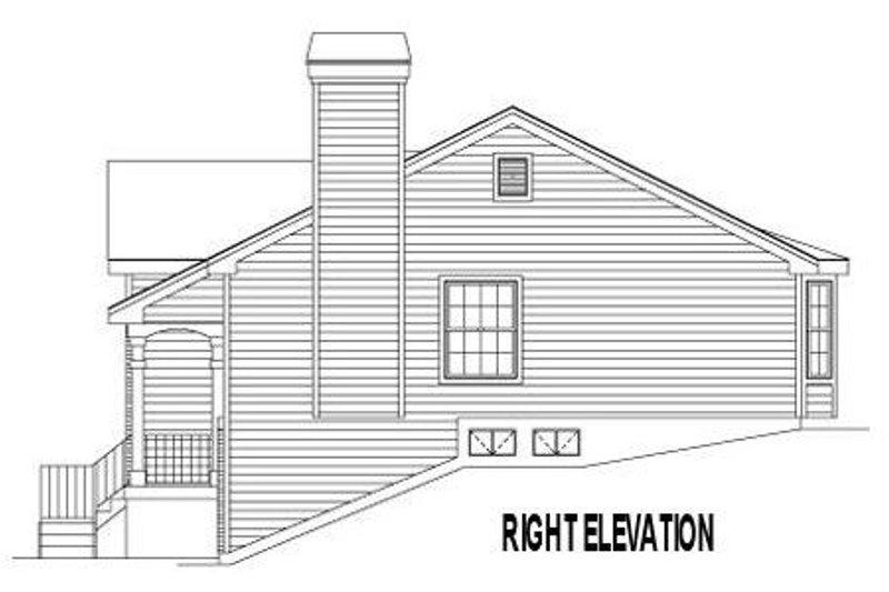 European Exterior - Other Elevation Plan #57-181 - Houseplans.com