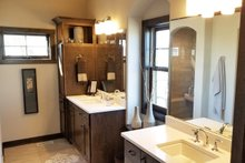 Dream House Plan - Craftsman Interior - Master Bathroom Plan #70-1481