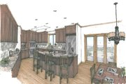 Craftsman Style House Plan - 3 Beds 3 Baths 3163 Sq/Ft Plan #509-4 Photo