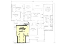 Farmhouse Floor Plan - Upper Floor Plan Plan #20-119