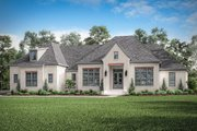 Farmhouse Style House Plan - 4 Beds 2.5 Baths 3032 Sq/Ft Plan #430-202 Exterior - Front Elevation