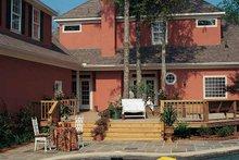 Dream House Plan - Classical Exterior - Rear Elevation Plan #37-235
