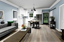 Farmhouse Interior - Family Room Plan #44-224