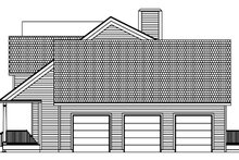 Architectural House Design - Colonial Exterior - Other Elevation Plan #1061-4