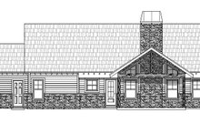 Country Exterior - Rear Elevation Plan #932-138