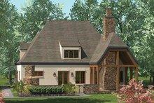 House Design - European Exterior - Rear Elevation Plan #453-624