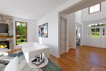 House Plan Design - Contemporary Interior - Entry Plan #48-986