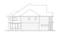 House Plan Design - Craftsman Exterior - Other Elevation Plan #132-490