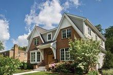 House Plan Design - Tudor Exterior - Front Elevation Plan #928-257