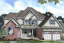 House Plan Design - Traditional Exterior - Front Elevation Plan #17-3111