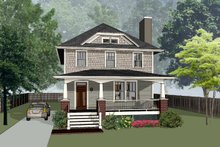 Home Plan - Craftsman Exterior - Front Elevation Plan #79-301