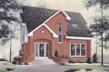 Home Plan - European Exterior - Front Elevation Plan #23-215