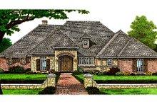 Dream House Plan - European Exterior - Front Elevation Plan #310-661